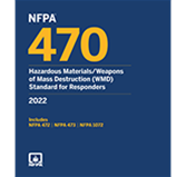 2022 NFPA 470 Standard - Current Edition