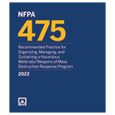 2022 NFPA 475 Recommended Practice - Current Edition