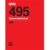 2018 NFPA 495 Code - Current Edition