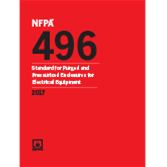 2017 NFPA 496 Standard - Current Edition
