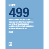 2021 NFPA 499 Recommended Practice - Current Edition