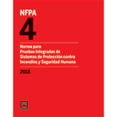 2018 NFPA 4 Standard, Spanish - Current Edition