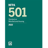 2022 NFPA 501 Standard - Current Edition
