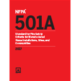 2017 NFPA 501A - Current Edition