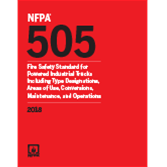 2018 NFPA 505 Standard - Current Edition