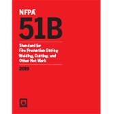 2019 NFPA 51B Standard - Current Edition