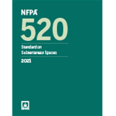 2021 NFPA 520 Standard - Current Edition