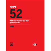 2016 NFPA 52 Code - Current Edition