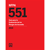 2019 NFPA 551 Spanish - Current Edition