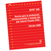 NFPA 59A: Standard for the Production, Storage, and Handling of Liquefied Natural Gas (LNG), Spanish