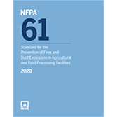 2020 NFPA 61 Standard - Current Edition