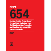 2017 NFPA 654 Standard - Current Edition
