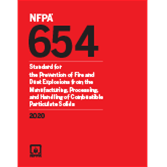 2020 NFPA 654 Standard - Current Edition