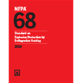 2018 NFPA 68 Standard - Current Edition