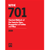 2019 NFPA 701 Standard - Current Edition