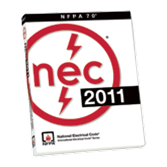 2011 NFPA 70: National Electrical Code (NEC)