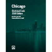 NFPA 70: National Electrical Code with Chicago Amendments