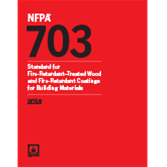 2018 NFPA 703 Standard - Current Edition