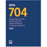 2022 NFPA 704 Standard - Current Edition
