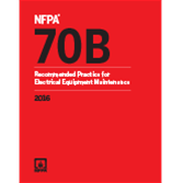2016 NFPA 70B Recommended Practice- Current Edition
