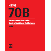 2019 NFPA 70B Recommended Practice - Current Edition