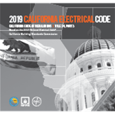 2019 California Electrical Code - Current Edition