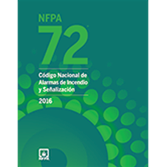 2016 NFPA 72 Code, Spanish - Current Edition