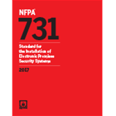 2017 NFPA 731 Standard - Current Edition