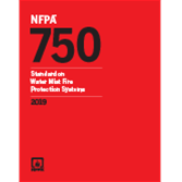 2019 NFPA 750 Standard - Current Edition