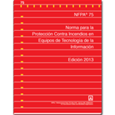 NFPA 75: Standard for the Fire Protection of Information Technology Equipment, Spanish
