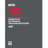 2020 NFPA 76 Standard - Current Edition