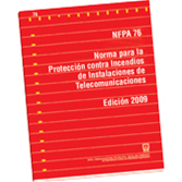 NFPA 76: Standard for the Fire Protection of Telecommunications Facilities, Spanish