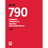 2021 NFPA 790 Standard - Current Edition