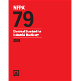 2018 NFPA 79 Standard - Current Edition