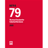 2021 NFPA 79 Standard - Current Edition