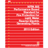 2015 NFPA 805 Standard - Current Edition
