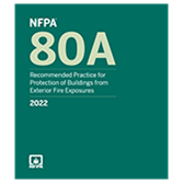 2022 NFPA 80A Recommended Practice - Current Edition