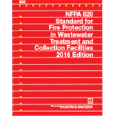 2016 NFPA 820 Standard - Current Edition