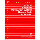 2015 NFPA 85 Code - Current Edition
