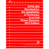 2015 NFPA 853 Standard - Current Edition