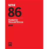 2019 NFPA 86 Standard - Current Edition