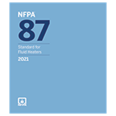 2021 NFPA 87 Recommended Practice - Current Edition