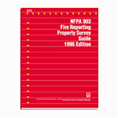 1996 NFPA 903 Fire Reporting Property Survey Guide