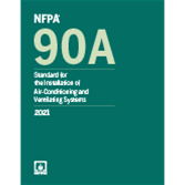 2021 NFPA 90A Standard - Current Edition