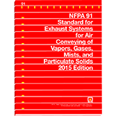 2015 NFPA 91 Standard - Current Edition