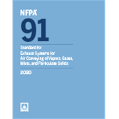 2020 NFPA 91 Standard - Current Edition