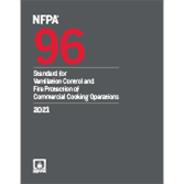 2021 NFPA 96, Standard - Current Edition