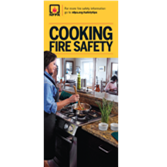 Cooking Fire Safety Brochures
