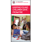 Keeping Young Children Safe From Fire Brochures