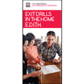 Exit Drills In The Home (E.D.I.T.H.) Brochures